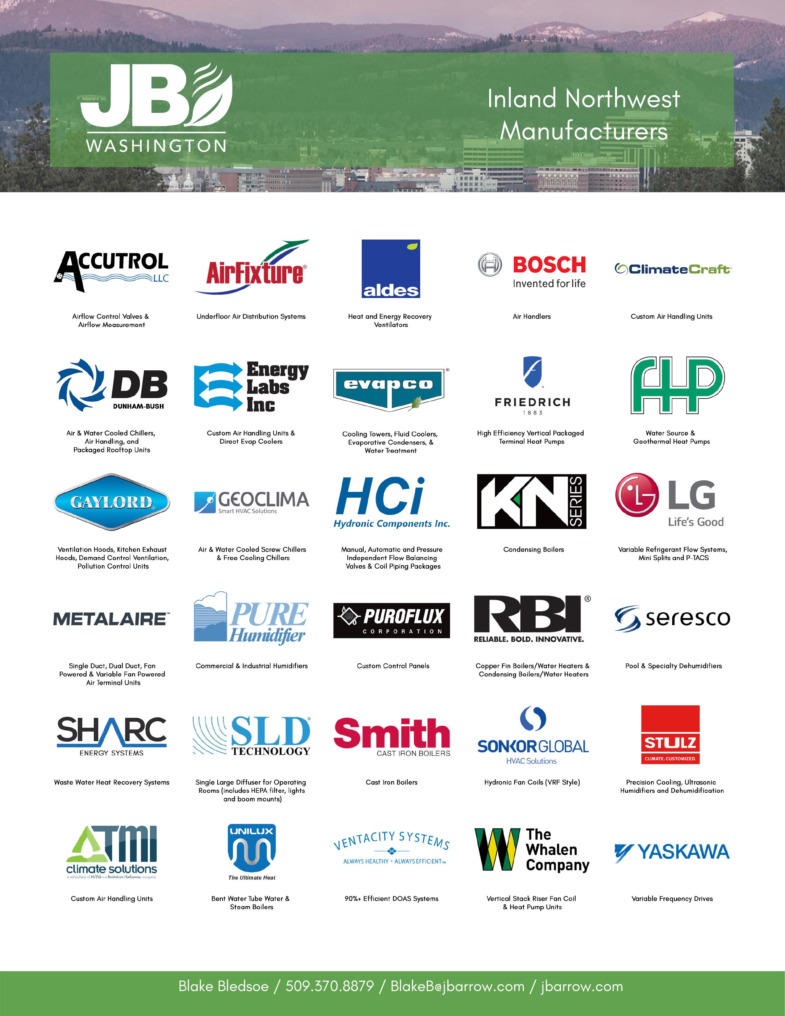 Johnson Barrow manufacturer logos